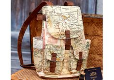 Create a Mini Backpack with Tim Holtz's Eclectic Elements Foundations fabric collection.