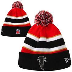 a4cac3e65 New Era Atlanta Falcons On-Field Classic Sport Cuffed Knit - Red Black
