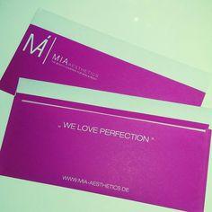 We Love Perfection by MIA Aesthetics
