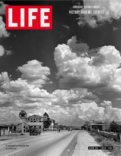 Perhaps the most famous photograph taken on Route 66, in Seligman, Arizona