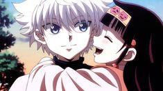Hunter X Hunter. Killua and Alluka. I want a big bro like him ❤❤ Killua, Hisoka, Alluka Zoldyck, Hunter X Hunter, Hunter Anime, I Love Anime, All Anime, Anime Guys, Manga Anime