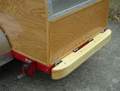Build your own teardrop trailer from the ground up – The Owner-Builder Network Small Camper Trailers, Diy Camper Trailer, Tiny Camper, Small Campers, Travel Trailers, Airstream Trailers, Rv Campers, Teardrop Trailer Plans, Building A Teardrop Trailer