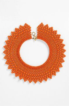 Natasha Couture Beaded Collar Necklace available at #Nordstrom