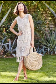 30353ca87a4 Beautiful dress for a day on the beach!  crochet  carly  dress
