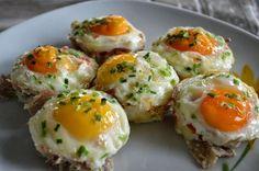 De keuken van Martine: Ei-muffin met spek