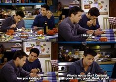 Ross and Joey Friends tv show Funny quotes