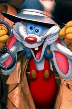 """A laugh can be a very powerful thing. Why, sometimes in life, it's the only weapon we have."" Who Framed Roger Rabbit? Arte Disney, Disney Art, Cartoon Movies, Cartoon Characters, Jessica And Roger Rabbit, Realistic Cartoons, Manga, Classic Disney Movies, Gothic Fantasy Art"