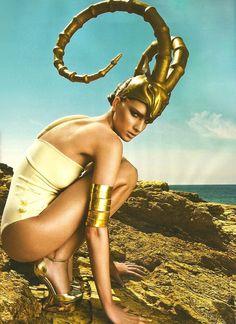 Thanasis Krikis / Vogue Hellas July 2012.