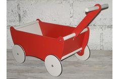 Drewniany wózek z dyszlem / Wooden pull along carriage with shaft [OlokaGruppe] -> Zitolo.com