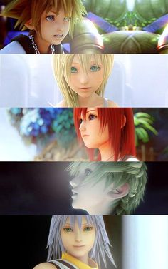 Kingdom Hearts, Srsly Square Enix! it's been 10 years, just give us the third game now, please...