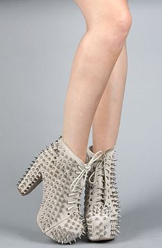 Jeffrey Campbell Lita Spike, this happened, I made these officially a part of my family.
