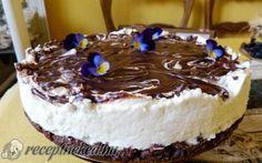 Mascarpone torta sütés nélkül recept fotóval
