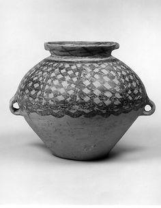 Jar (Guan) Period: Neolithic, Majiayao Yangshao, Banshan phase Date: ca. 2500–2300 B.C. Culture: China Medium: Earthenware