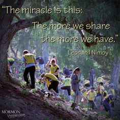 Mormon Hippie - Leonard Nimoy - The Miracle is this.... // Image by: MormonMediaNetwork.com