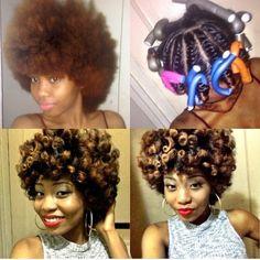 K - she just made me want to do a flat twist & curl, brb! LOL  www.talktresses.com