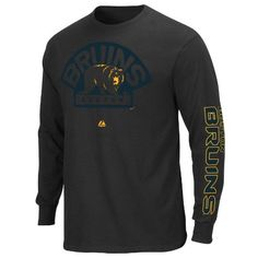 NHL Boston Bruins Men's Goal Crease Long Sleeve Shirt, Black, Large  for more details visit :http://sports.megaluxmart.com/