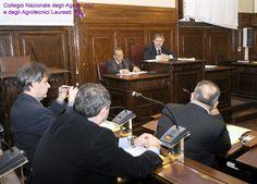 Si aprono i lavori: presiede il candidato più 'anziano', Lorenzo Gallo.