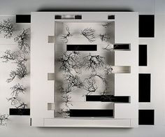 Bak Gordon . residence of the Portuguese embassy, Brazil, architectural model, maquette, modulo, maqueta