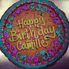 Cookie Cakes Love The Colors On This One Giant