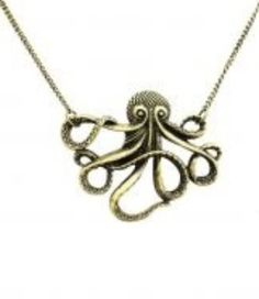 Cute octopus necklace