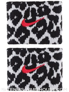 Nike Fall Premier Print Wristband White/Black - while I wouldn't suggest wearing the entire printed kid a la Serena Williams, these wristbands can add fun pop to your tennis look.