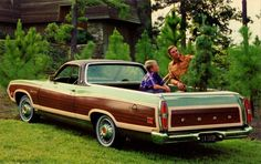 1971 Ford Ranchero Squire | Flickr - Photo Sharing!