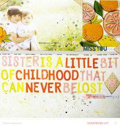 A Sister... *MAIN KIT* by celine navarro at @studio_calico Far Far Away Jan 2015