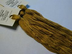 STRAW BONNET 7002 Gentle Art Simply Shaker Threads GAST \u2022 6-Strand Embroidery Floss for Cross Stitch Hand-Dyed Over Dyed Threads \u2022 5 Yds