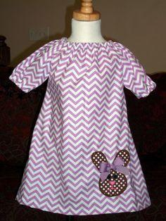 etsy pickledotsdesigns Easter dress