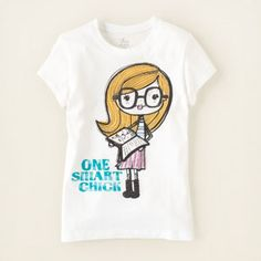 A fun t-shirt from The Children's Place. They also have some cute sunglasses cases on sale right now.