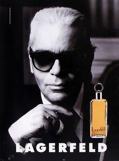 Lagerfeld Classic. Perfume Ad, Perfume Bottles, Parfumerie, Parfums, Vintage Ads, Magazine Ads, Karl Lagerfeld, Coco Chanel, Mens Sunglasses