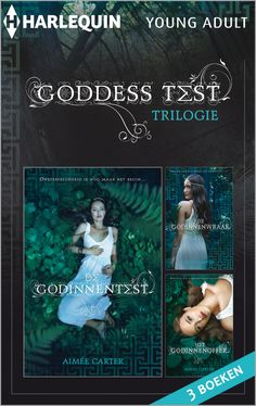 Harlequin Young Adult - Aimée Carter - Goddess Test #harlequin #youngadult #aimeecarter #goddesstest