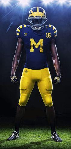 Michigan Wolverines football uniforms