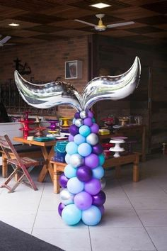 Amarantha Zamora's media content and analytics Mermaid Birthday Cakes, Little Mermaid Birthday, Little Mermaid Parties, Mermaid Party Decorations, Birthday Party Decorations, Birthday Parties, Parties Kids, 4th Birthday, Birthday Ideas