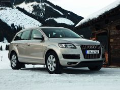 Audi Q7- safe (and stylish) ride for baby
