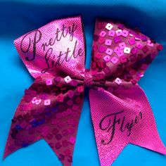 Cheer Bow Pretty Little Flyer by SarahsCheerBows on Etsy, $12.00