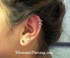 double helix piercing - Google-Suche