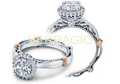 PARISIAN-118R engagement ring from The Parisian Collection of diamond engagement rings by Verragio
