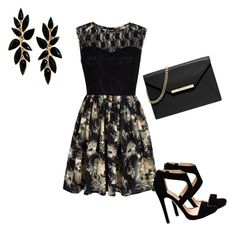"""""""black"""" by vbstyle88 ❤ liked on Polyvore featuring Mela Loves London and MICHAEL Michael Kors"""