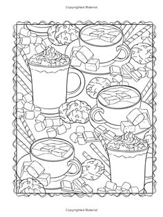 Creative Haven Winter Scapes Coloring Book Jessica Mazurkiewicz