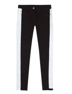 Sandro Particulier  Black & White Jeans – Can't make it to Miami for #ArtBasel? Shop our pop-up boutique at #ShopBAZAAR! http://shop.harpersbazaar.com/miami-art-basel-2013/