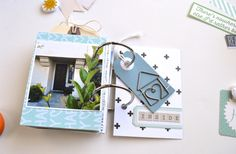 Nathalie Leonelli's 4x6 Mini Book for Love Where You Live by Little Paper Projects