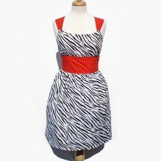 Rockabilly+Zebra+Pinup+Dress+/+Rockabilly+by+VintageGaleria,+$55.95 maid of honor?