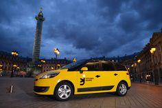 Voitures Jaunes : vers une fin du monopole du taxi parisien #Startinweb #Voitures #Jaunes # Paris