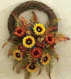 Fall+Floral+Design+Ideas   home calendar floral designs floral designs beautiful fall wreath ...