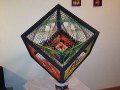 String Art Cube-Alternate View by Naomeri