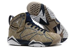 Air Jordan VII Filbert/Natural-Obsidian-White---This would be what you are looking for!