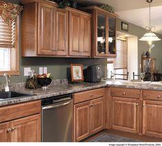 Hickory kitchen cabinets Kitchen Pinterest Hickory kitchen