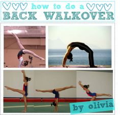 """125. HOW TO DO A BACK WALKOVER."" by theamazingtipgirls-xoxo ❤ liked on Polyvore"