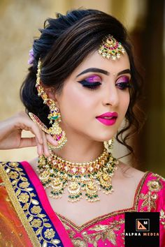 [New] The 10 Best Eye Makeup Ideas Today (with Pictures) - Beautiful makeover by and the Unique blend salon team Book your makeover with Aayushi patel call now on 9825323002 Photography Model Outfit Jwellary Bridal Makeup Images, Bridal Eye Makeup, Bridal Makeup Looks, Bride Makeup, Bridal Beauty, Indian Wedding Makeup, Indian Wedding Hairstyles, Indian Bridal Outfits, Indian Bridal Fashion